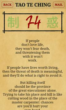 Tao te Ching of Lao Tzu ☯ apk screenshot