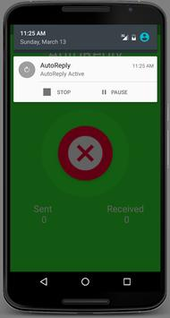AutoReply - SMS Auto Responder apk screenshot