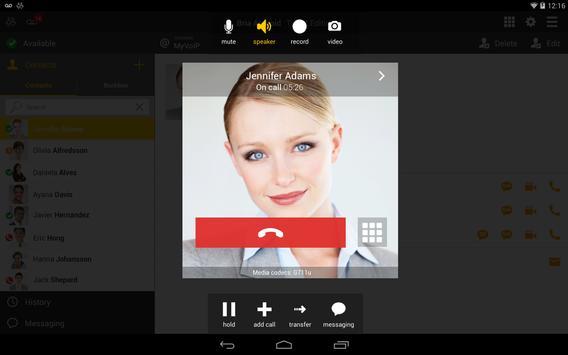 Bria Stretto™ for Good Tablet apk screenshot