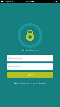 Property Lockbox poster