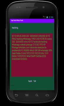 hack and spy whats prank apk screenshot