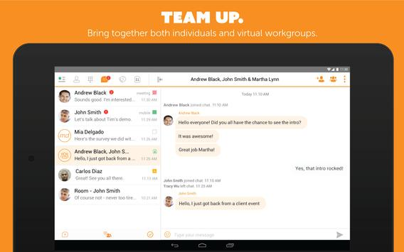 UC-One Communicator for Tablet apk screenshot