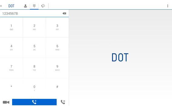 DOT App for Tablet apk screenshot