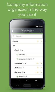 Vmoso: KM*Mobile Collaboration apk screenshot