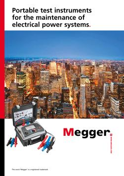 Megger test and measurement poster