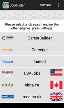 Jobfinder poster