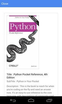 Free E Books for Tech Topics apk screenshot
