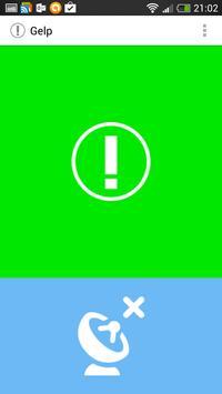 Gelp emergency messenger apk screenshot
