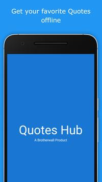Quotes Hub poster