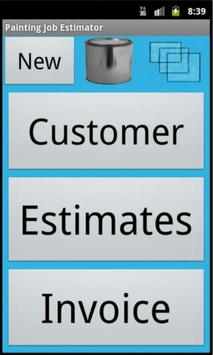 Paint Job Estimator apk screenshot