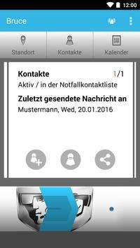 Bruce Notfall Communicator apk screenshot