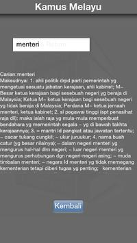 Malay Dictionary apk screenshot