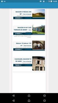 Annonces Immo BSK Immobilier apk screenshot