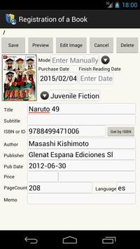 My Book Manager (Book Library) apk screenshot
