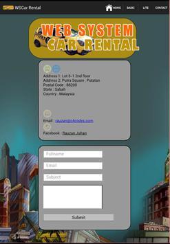 WSCar Rental apk screenshot