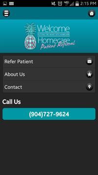 Welcome Homecare apk screenshot