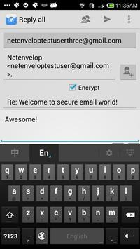 Netenvelop apk screenshot