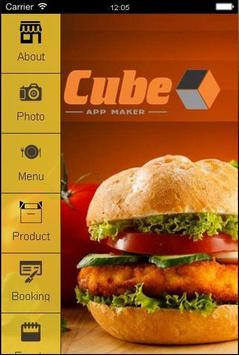 Cube Rest App poster