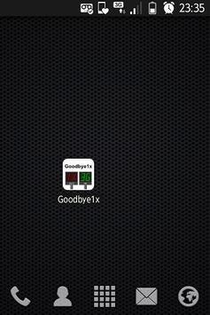 Goodbye1x apk screenshot