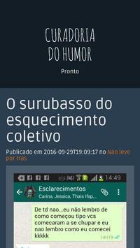 Curadoria do Humor - Cudomor apk screenshot