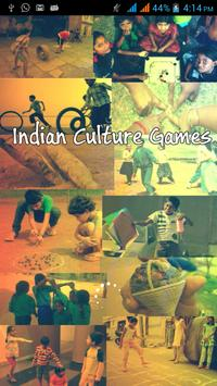 Indian Culture Games poster