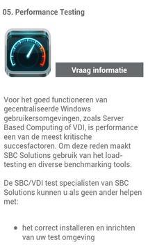 SBC Solutions App apk screenshot