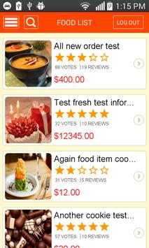 Deliz Customer apk screenshot