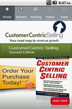 CustomerCentric Selling Pocket poster