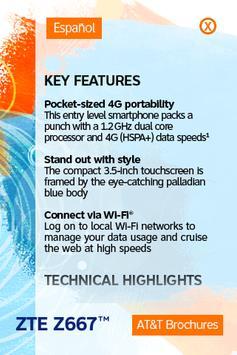 devicealive ZTE Z667 poster