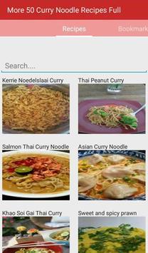Curry Noodle Recipes Full apk screenshot