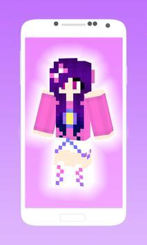 Cute girl anime skins apk screenshot
