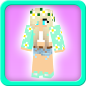 Cute minecraft skins for girls icon