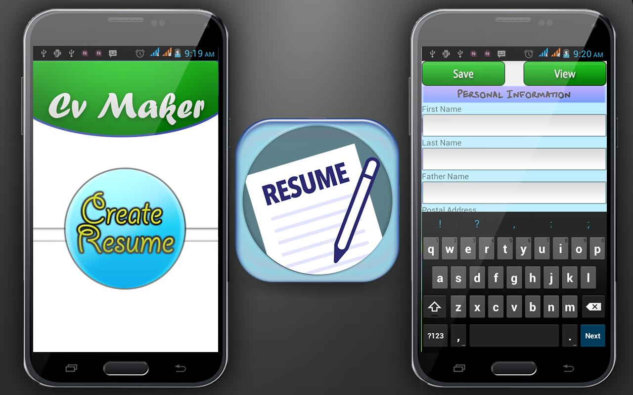 curriculum vitae maker apk education app for curriculum vitae maker poster
