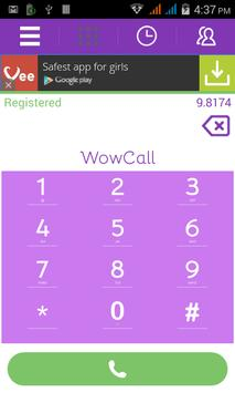 WowCall apk screenshot
