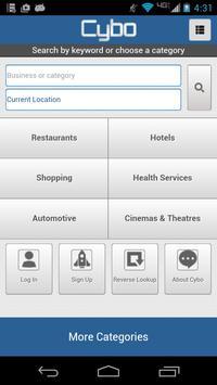 Cybo Global Business Directory apk screenshot