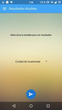 Elecciones Guatemala 2015 apk screenshot