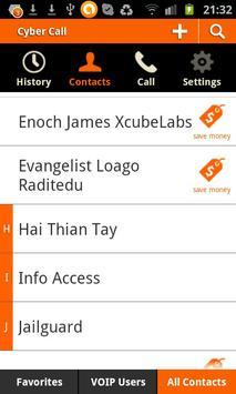 Cyber Call apk screenshot