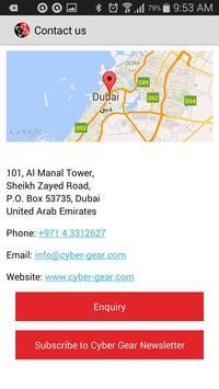 Cyber Gear apk screenshot