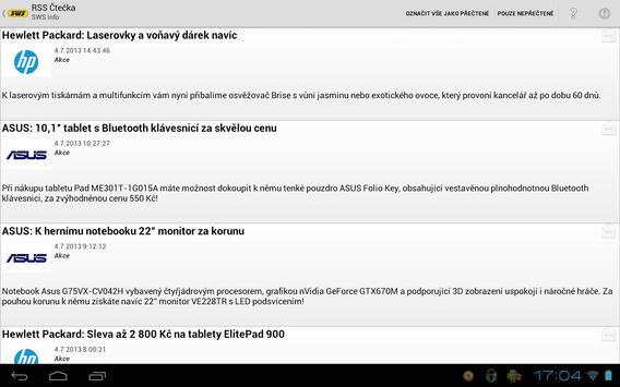 SWS Info apk screenshot