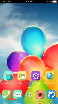 Great Balloon Theme C Launcher apk screenshot