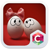 Best Cute Egg Couples Theme icon