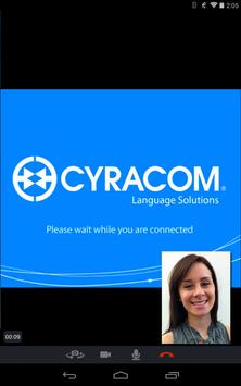 CyraCom Interpreter apk screenshot