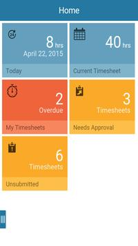 CA Clarity Mobile Time Manager poster