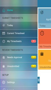 CA Clarity Mobile Time Manager apk screenshot
