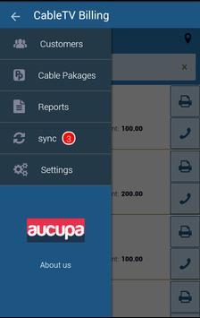 CableTV billing application apk screenshot