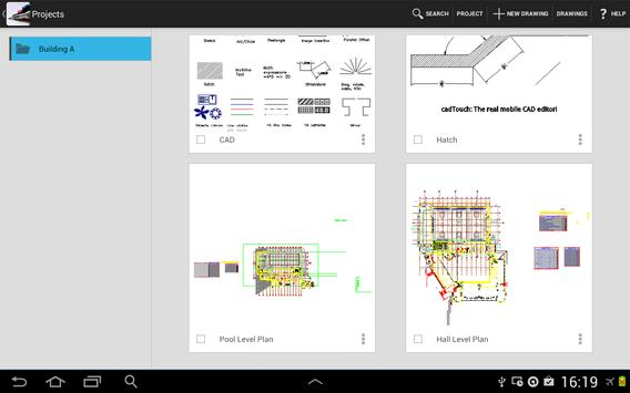 CAD Touch Free apk screenshot