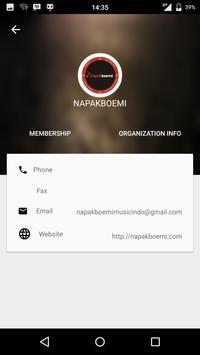 Kartu Membership Napakboemi apk screenshot