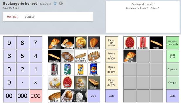 Cash register for Sales points apk screenshot