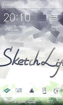Sketch Style Icons&Wallpapers apk screenshot