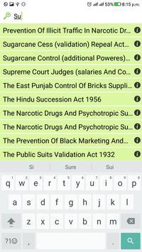 Indian Bare Acts apk screenshot